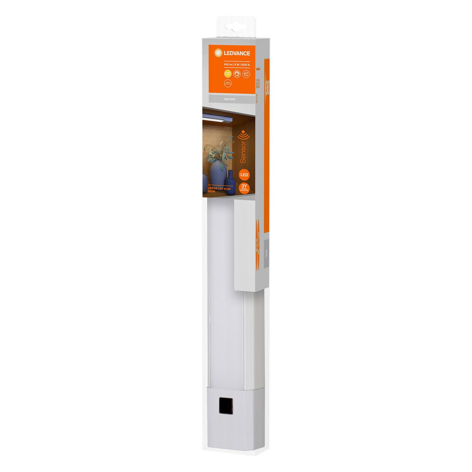 LEDVANCE Linear Slim -LED-kaapinalusvalaisin 50 cm