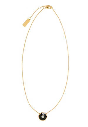 The Marc Jacobs The Medallion Pendant 001 Black/Gold One size