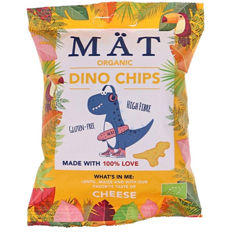 Dino Chips Cheddar Eko - 39% rabatt