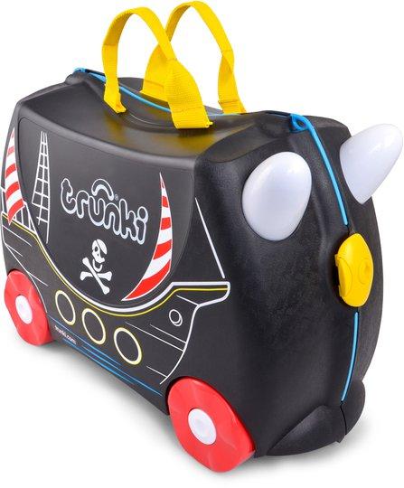Trunki Pedro The Pirate Trillekoffert 18L, Black