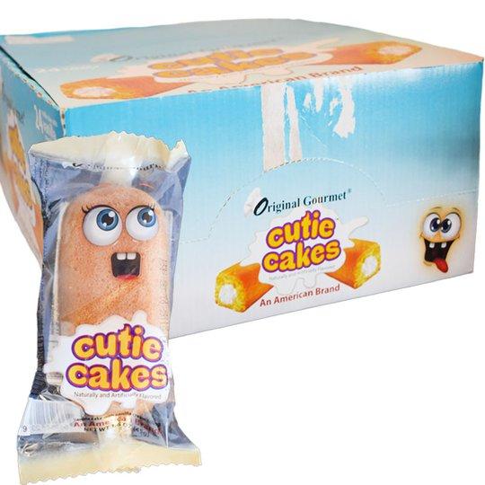 "Hel låda ""Vanilla Cutie Cakes"" 24 x 45g - 60% rabatt"