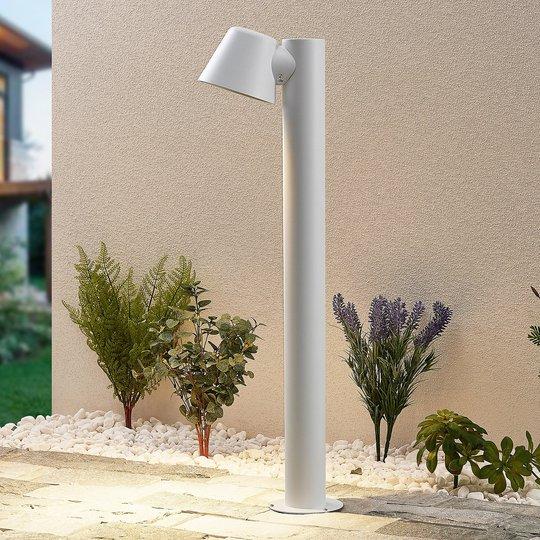 Lindby Ileyna -pollarilamppu, valkoinen