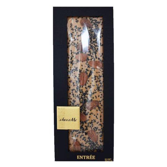 Chokladkaka Mandlar & Sesamfrön 100g - 80% rabatt