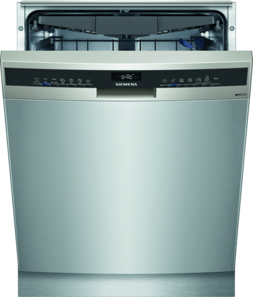 Siemens Sn43ei17cs Underbygg. Diskmaskin - Stål Look
