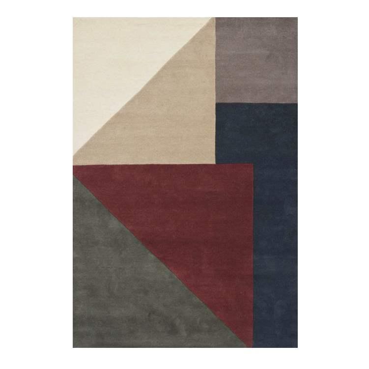 Ullmatta ARGUTO 140 x 200 cm Combi, Linie Design