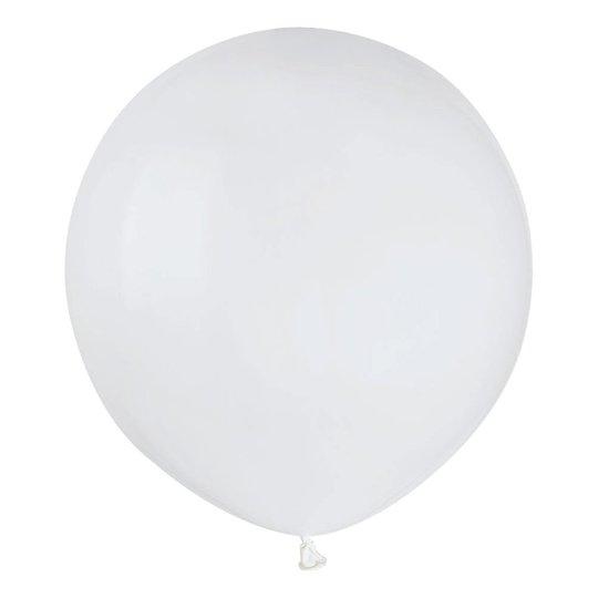 Ballonger Vita Runda Stora - 10-pack