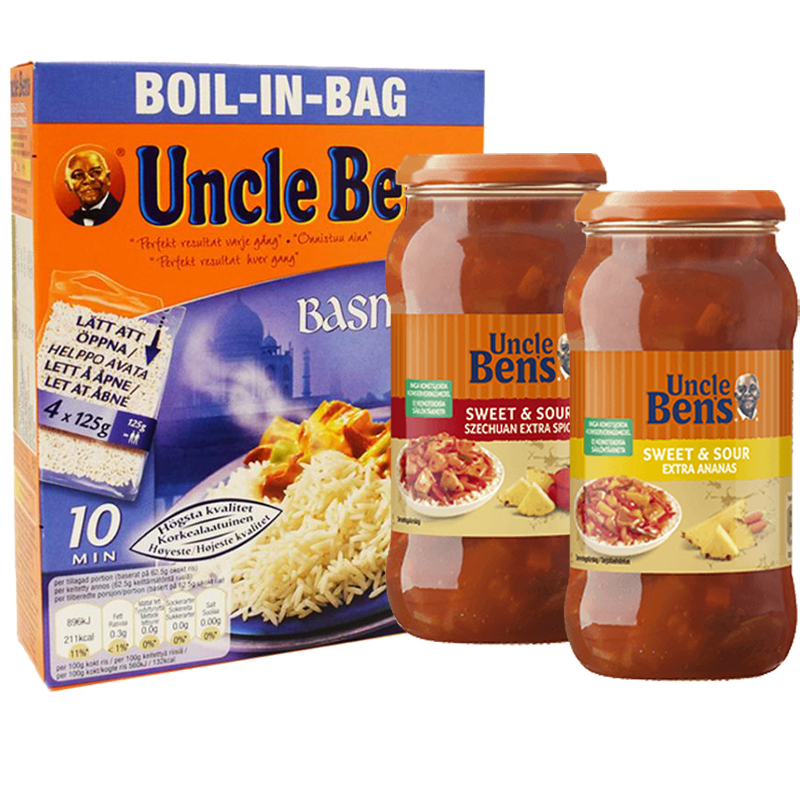 Uncle Ben's Tuotteet - 40% alennus