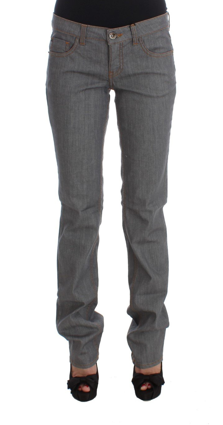 Costume National Women's Cotton Regular Fit Denim Jeans Gray SIG30117 - W26
