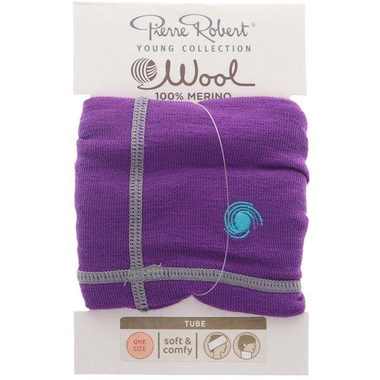 Wool Tube One Size Lila - 81% rabatt