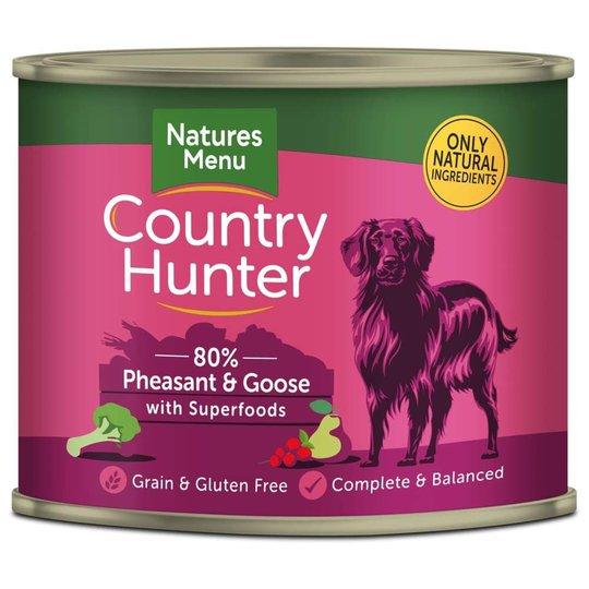 NaturesMenu Country Hunter Dog Fasan & Gås 600 g