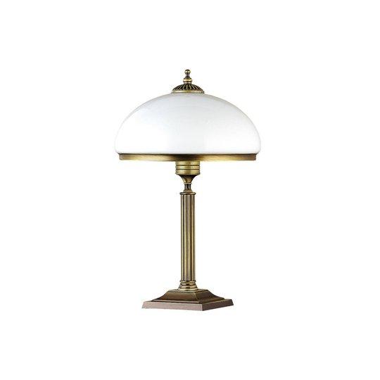 Bordlampe Petro med glasskjerm