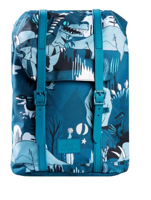 Frii of Norway - School Bag (22L) - Dinosaur (21100)