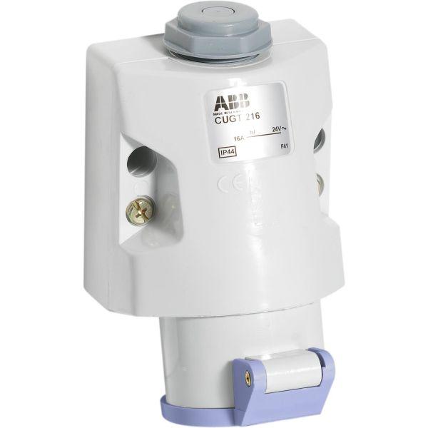 ABB 2CMA100985R1000 Seinäpistorasia 24 V, 50–60 Hz