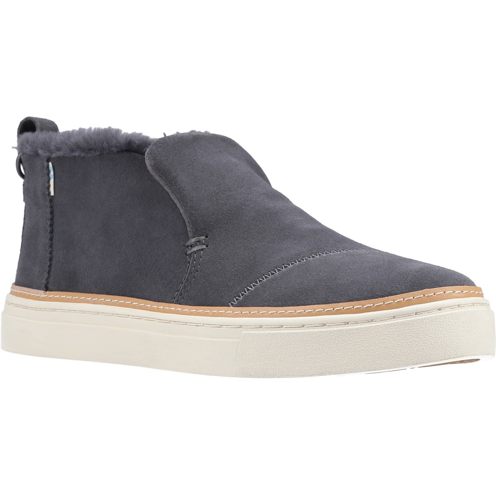 Hush Puppies Men's Paxton Chelsea Boot Various Colours 32882 - Gry Suede/Faux Shearling 5