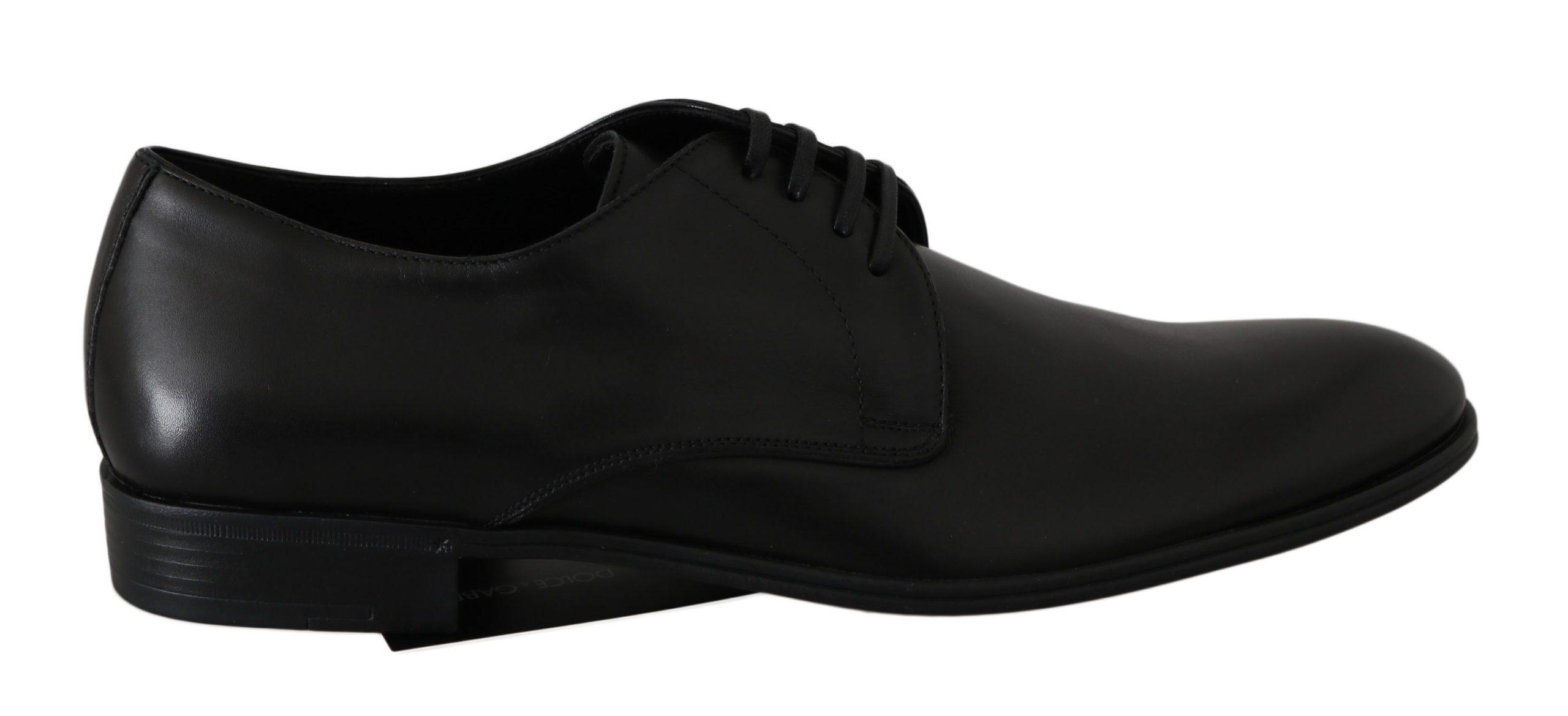 Dolce & Gabbana Men's Shoes Black MV2487 - EU40.5/US10