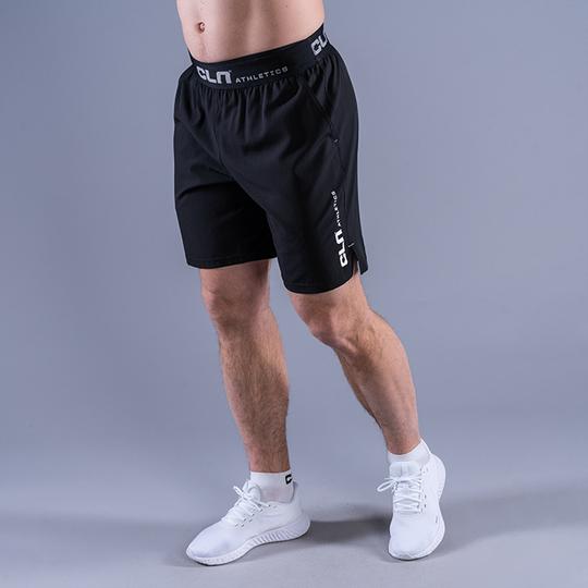 CLN Dino Stretch Shorts, Black