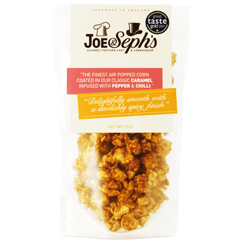 """Popcorn """"Caramel, Pepper & Chilli"""" 80g - 67% rabatt"""