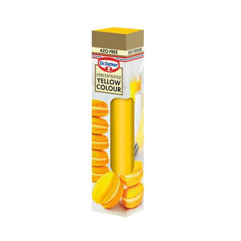 Keltainen Geeliväri - 75% alennus
