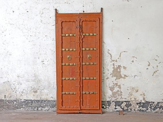 Antique Double Doors Brown