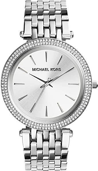 Michael Kors Women's Darci Watch Silver MK3190