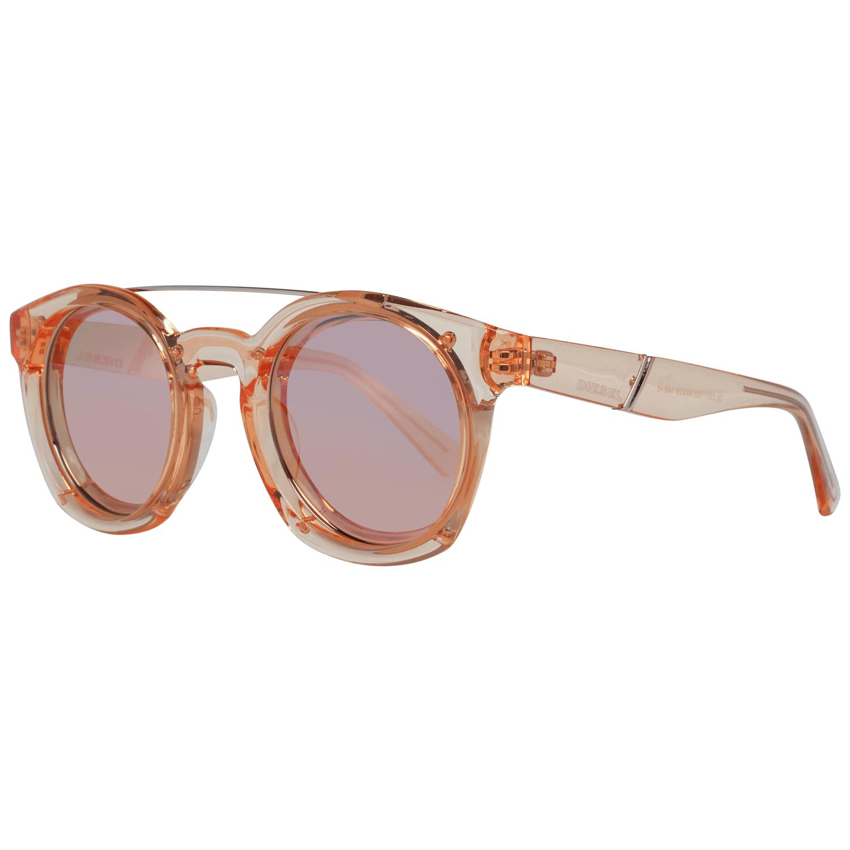 Diesel Unisex Sunglasses Coral DL0251 4972Z
