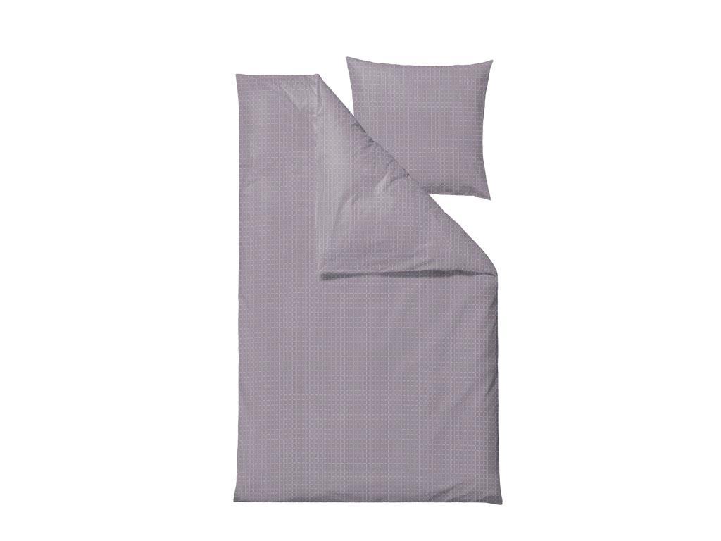 Södahl - Edge Bedding 140 x 220 cm - Dark Lavender (727454)