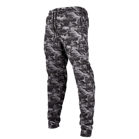 Star Nutrition Tapered Pants, Black Camo