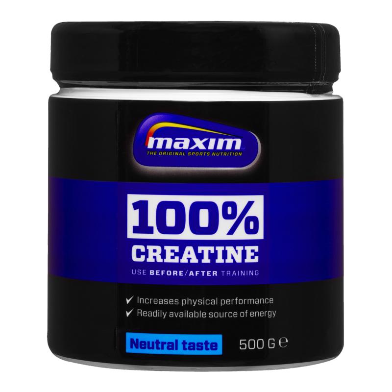 "Kreatinpulver ""Neutral Taste"" 500g - 48% rabatt"