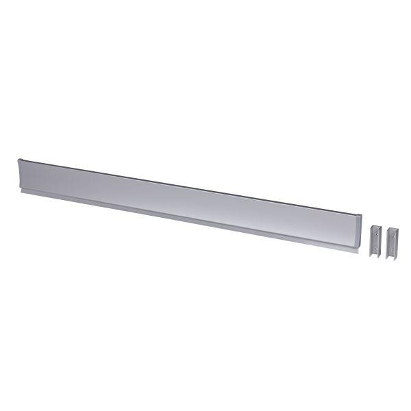 Leijma 8209 Dusjkant rett, sølv 110 cm