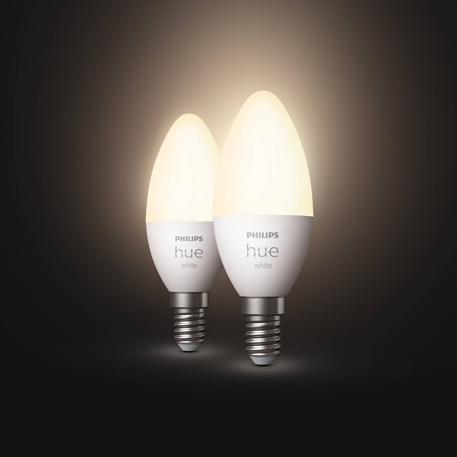Philips Hue White 5,5W E14 LED-kynttilälamppu 2kpl