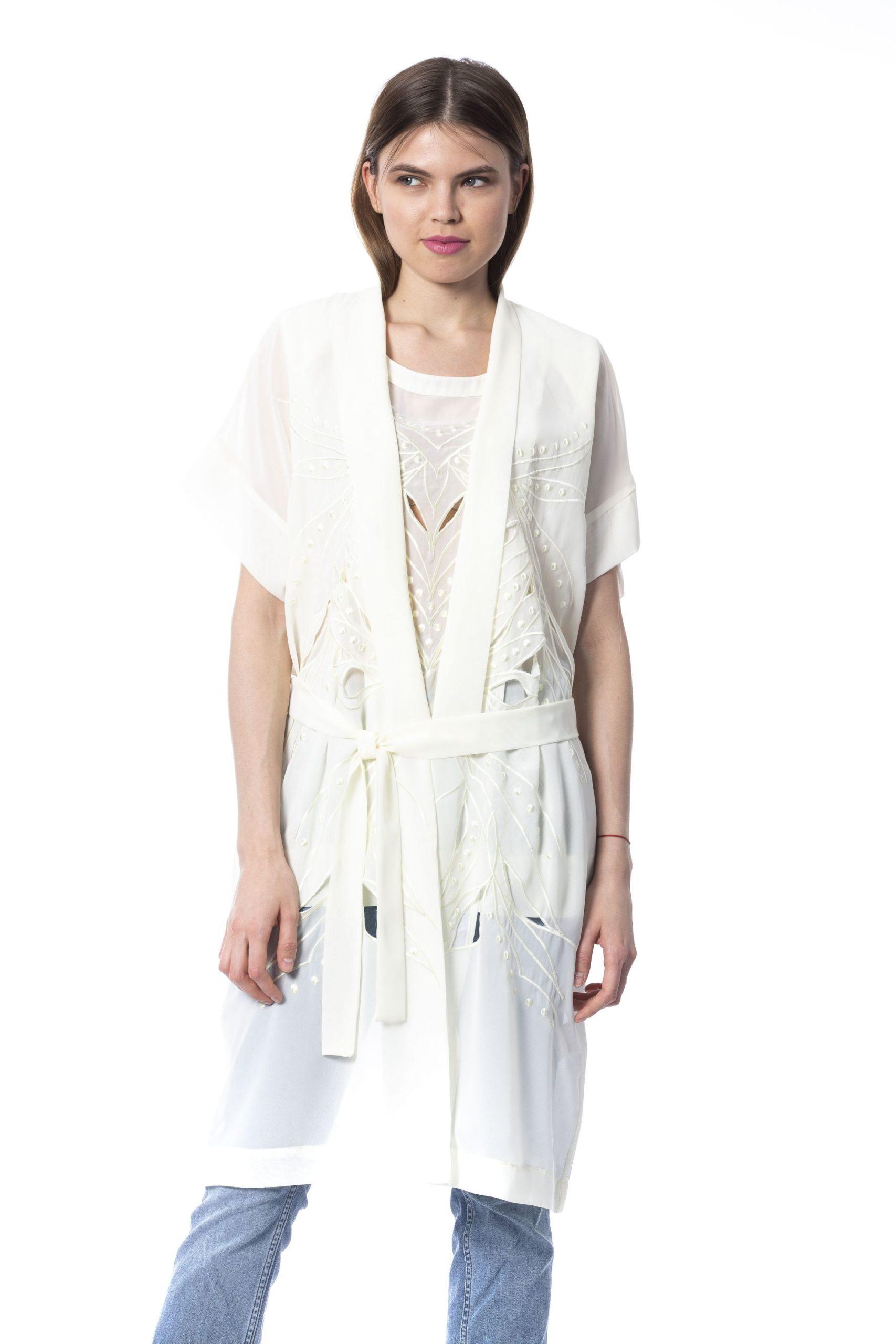 Silvian Heach Women's Jackets White SI995902 - XXS