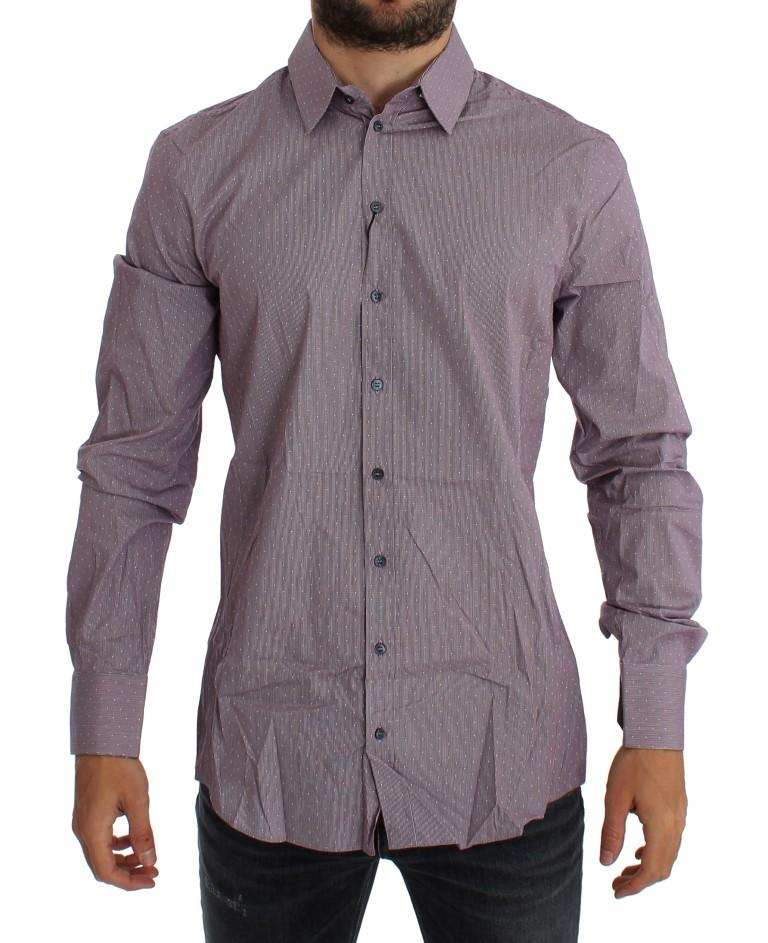 Dolce & Gabbana Men's Slim Fit SICILIA Shirt Multicolor GTT10318 - 38