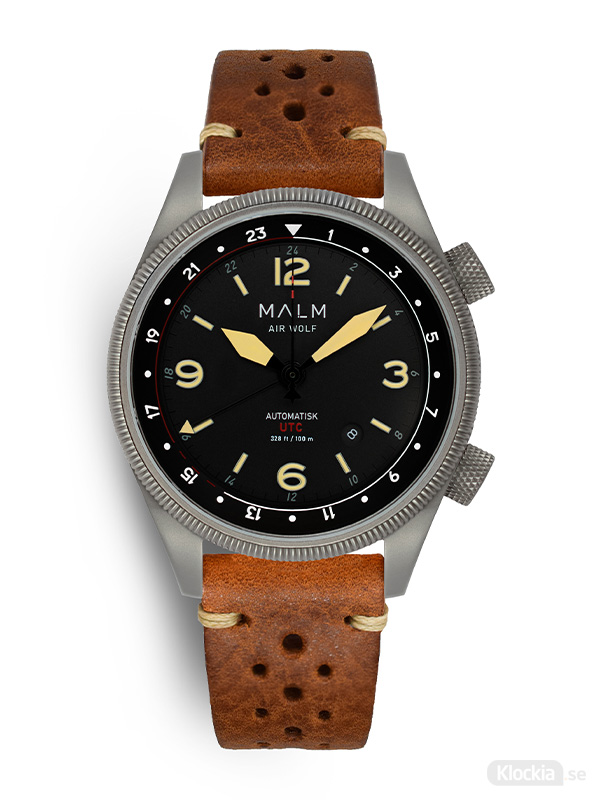 MALM AIR WOLF Silver classic Brown Race MW-AW39SRCL-4