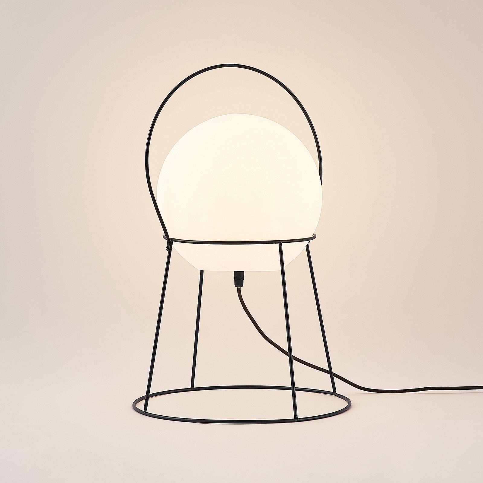 Lucande Hoyka utendørs bordlampe