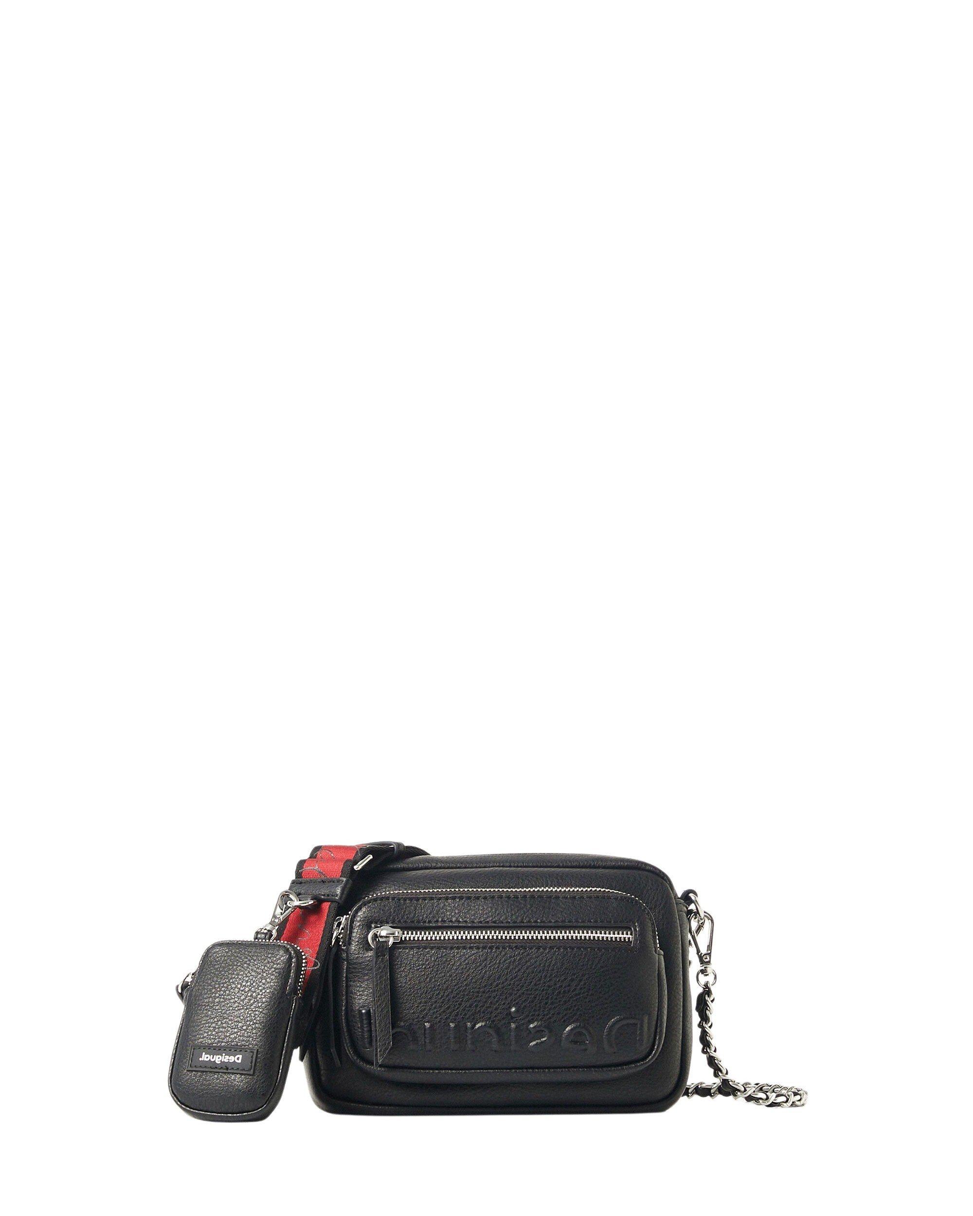 Desigual Women's Handbag Beige 305857 - black UNICA