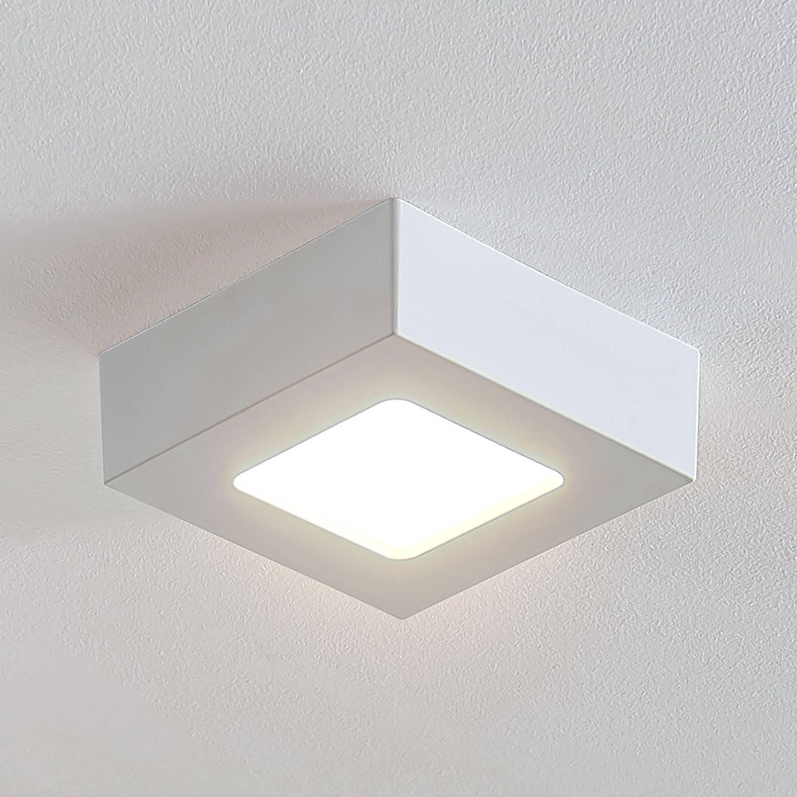 LED-kattovalo Marlo valk. 3000K kulmikas 12,8cm