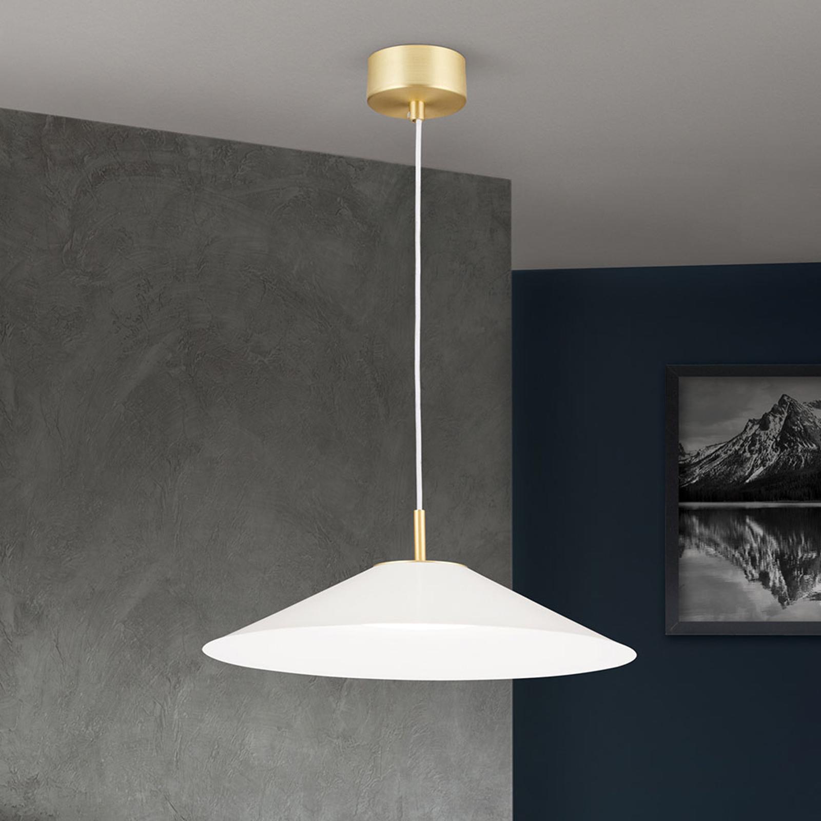 LED-riippuvalaisin Gourmet, valkoinen varjostin