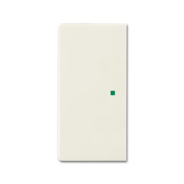 ABB Future Linear 6220-0-0589 Yksiosainen vipupainike vasen/oikea Chalet-white