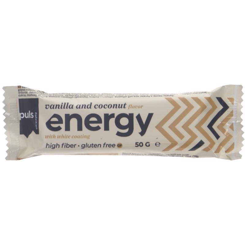 Energiapatukka Vanilja & Kookos - 20% alennus