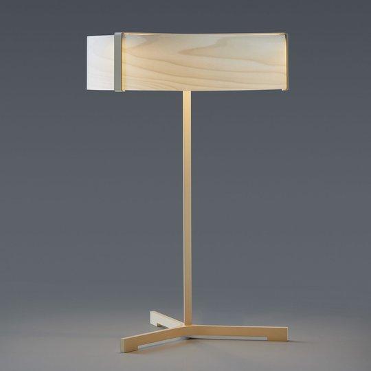 LZF Thesis LED-bordlampe elfenben/elfenben