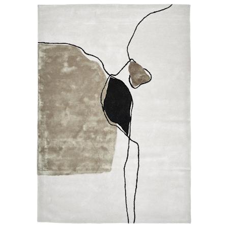 Abstract Ivory Matta 250x350 cm