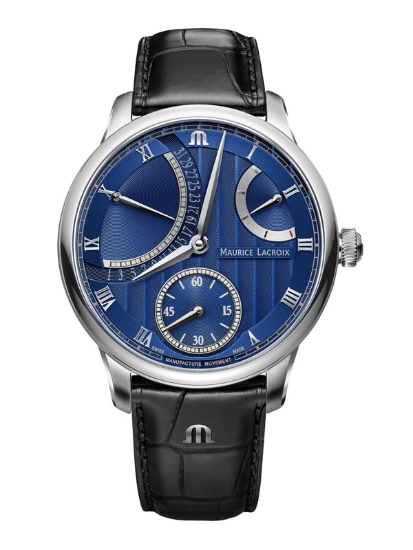 Maurice Lacroix Masterpiece Calender Retrograde 43mm MP6568-SS001-430-1