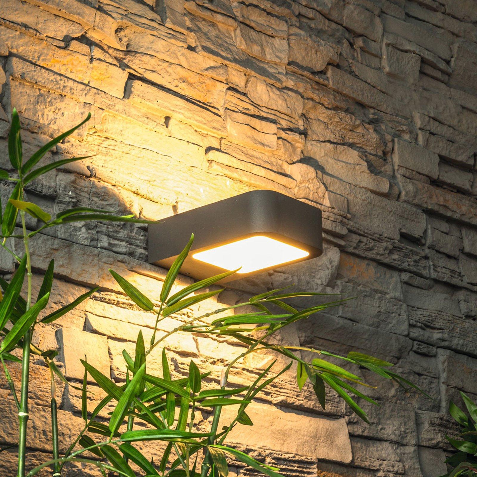 Moderne LED-vegglampe Juna for utendørs bruk