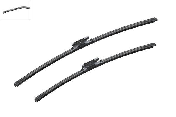 Flatbladesats A117S 650/550