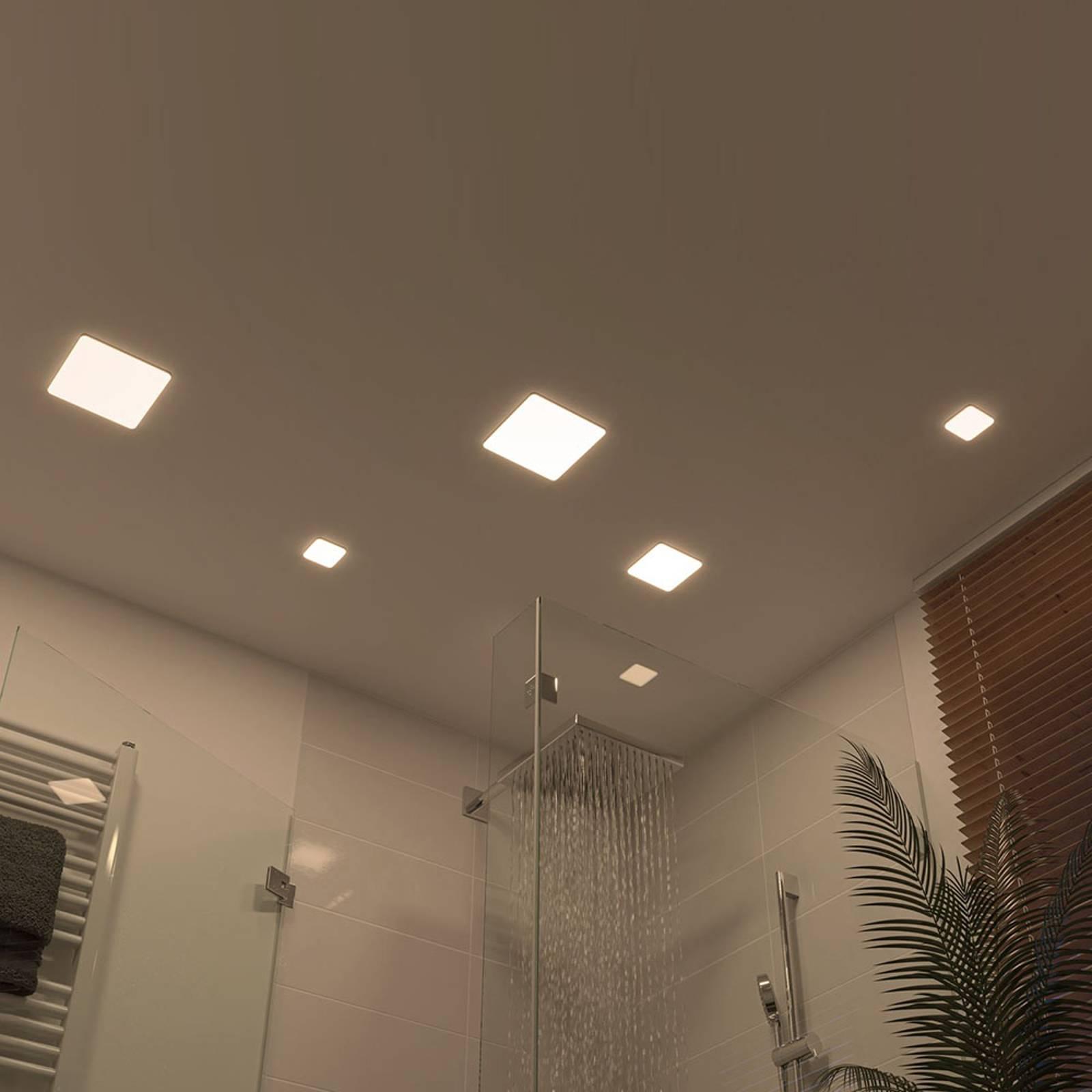 Paulmann Veluna -LED-uppovalo 4 000 K 7,5 x 7,5