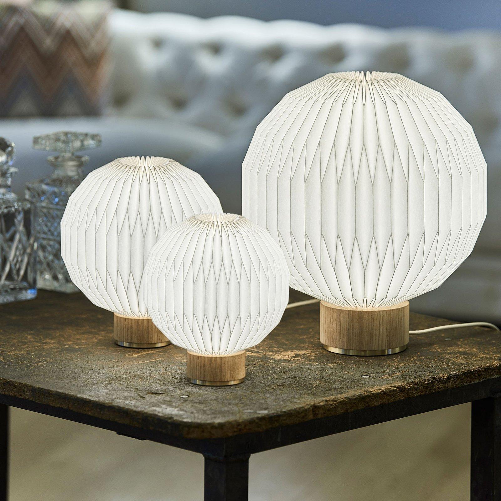 LE KLINT 375 bordlampe Ø 18 cm plastskjerm