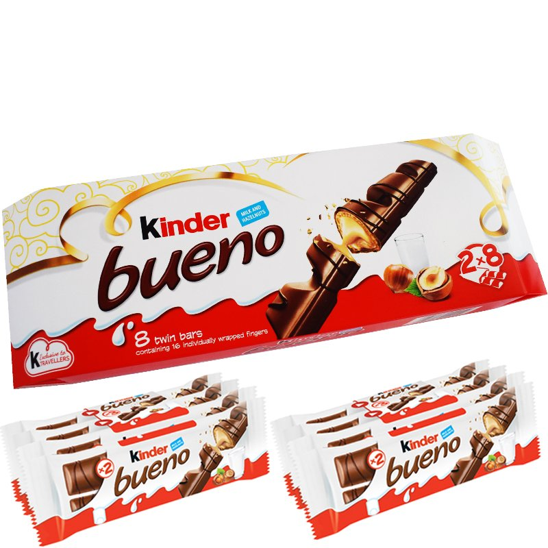 Kinder Bueno 8-pack - 89% rabatt
