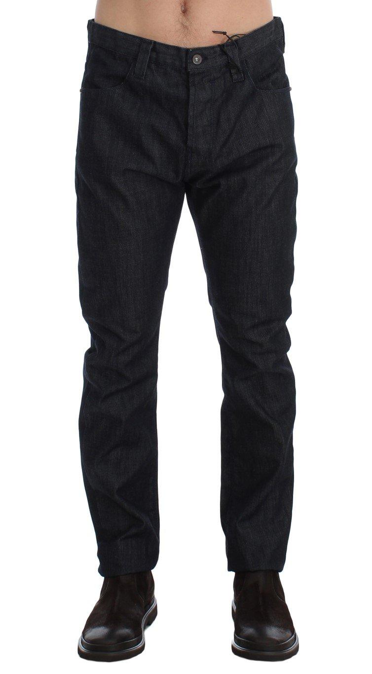 Costume National Men's Regular Fit Cotton Denim Jeans Blue SIG17933 - W34