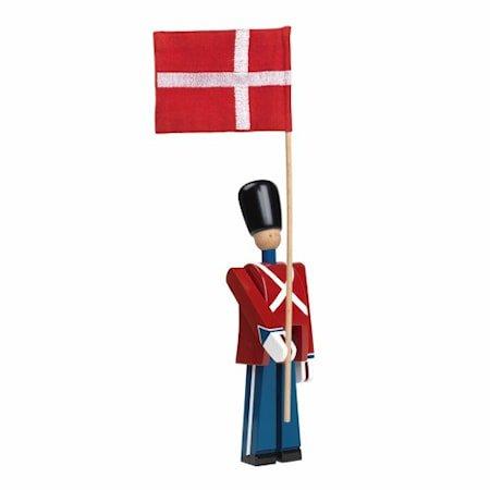 Flaggbærer Rød/blå/hvit Liten