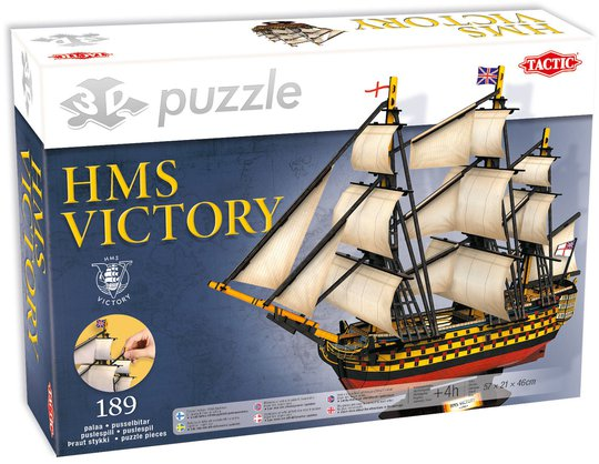 Tactic Puslespill 3D Puzzle HMS Victory